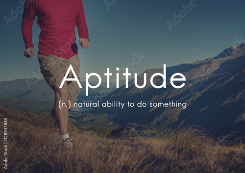 Aptitude Natural Human Ability Graphic Concept Wallpaper Mural
