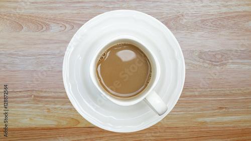 Fototapeta A cup of coffee obraz na płótnie