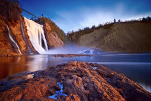 Montmorency Falls, Quebec, Can...