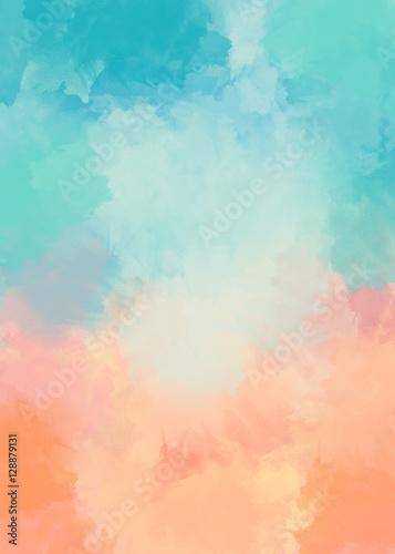 Photo  Abstrakter farbiger Grungehintergrund