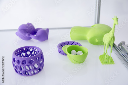 Carta da parati  3D Printed Objects