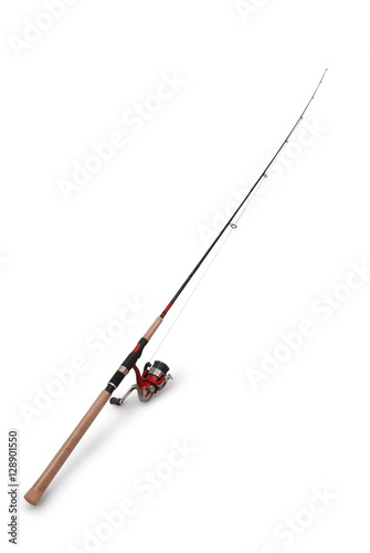 Fotografia Fishing rod with a reel