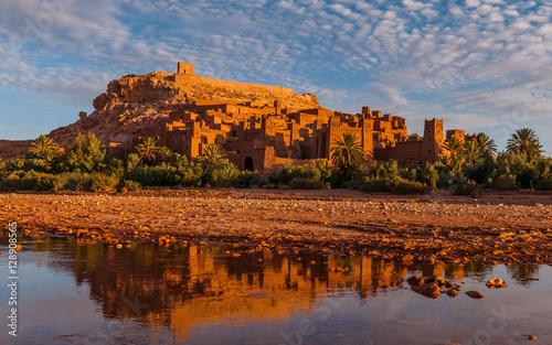 Foto op Canvas Marokko Kasbah in Ait-Ben-Haddou, Marokko