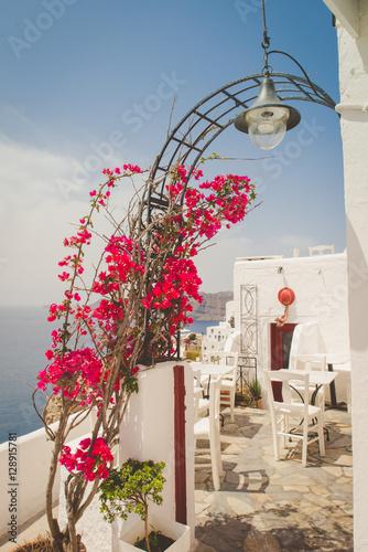Santorini, Greece restaurant