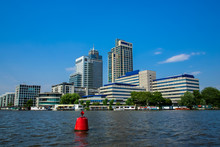 Office Towers On The Amstel Ri...