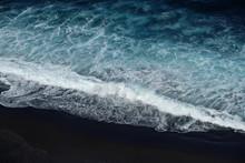 Beach Aerial , Black Sand Beac...