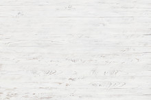 White Rustic Wood Texture Background