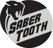 Saber Tooth Tiger Cat Head Cir...