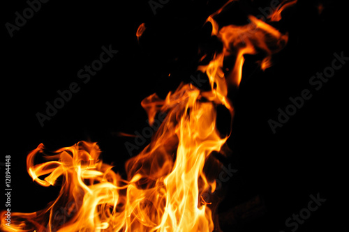 Photo sur Aluminium Feu, Flamme fire flame