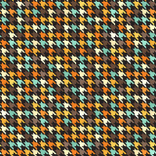 Houndstooth Retro Pattern. Sea...