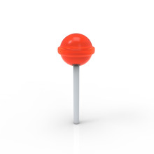 Red Lollipop Icon