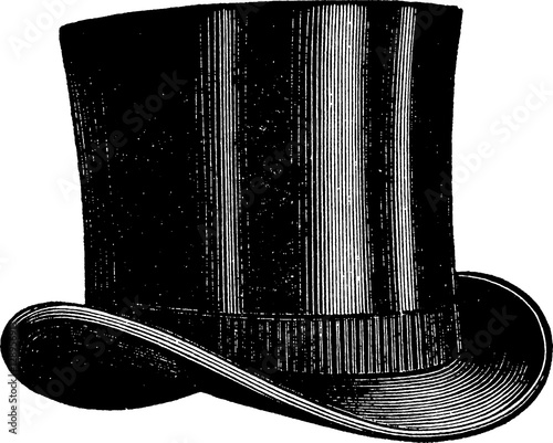 Fotografie, Obraz  Vintage picture hat