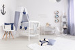 Child room in nautical style
