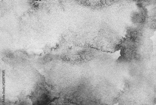 Plakat Streszczenie szary tło akwarela