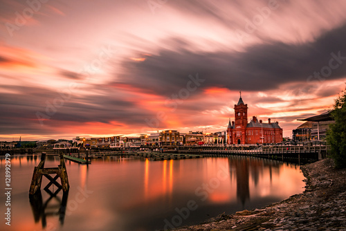 cardiff bay Canvas Print