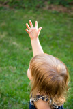 Fototapeta Zwierzęta - Girl Reaching