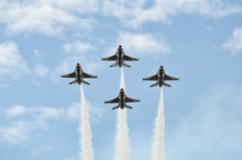 USAF Fighter Planes In Diamond...