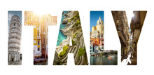 Collage Of Major Italian Travel Destinations
