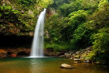 Lower Tavoro Waterfalls In Bou...