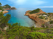 Summer sea bay (Spain).
