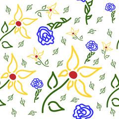 Floral pattern - kwiatowy wzór