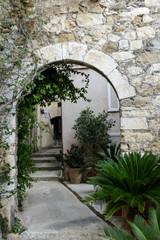Panel Szklany Podświetlane Uliczki Roquebrune