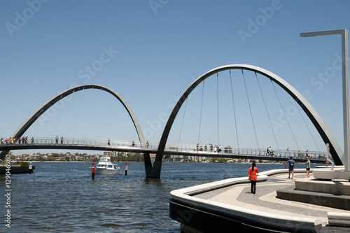 Poster Océanie Elizabeth Quay Bridge - Perth - Australia