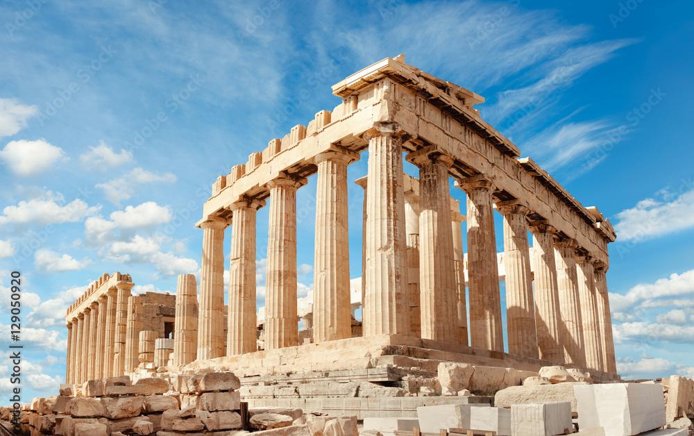 Fototapeta Parthenon on the Acropolis in Athens, Greece