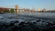 Manhattan From Brooklyn On Sunny Day