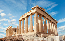 Parthenon On The Acropolis In ...