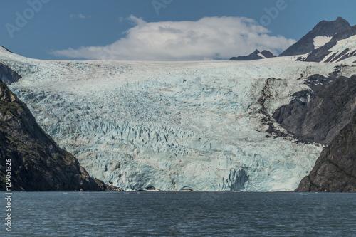 Fotografie, Obraz  Holgate Glacier in Kenai Fjords National Park, Alaska.
