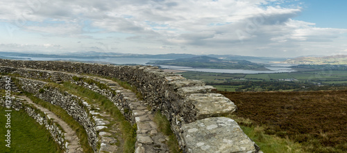 Lough Swilly from Grianan Of Aileach, County Donegal, Ireland.
