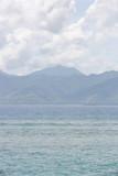 Piękna piaszczysta plaża - 129057323