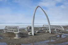 Whale Bone Arch In Barrow, Ala...