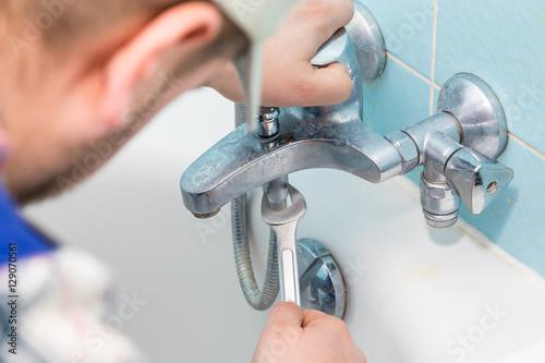 Fotografia  Sanitär Handwerker Installateur Klempner