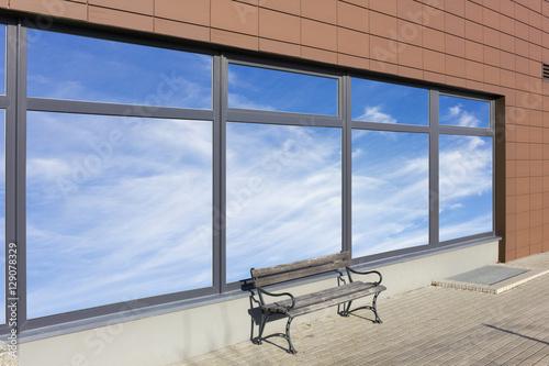 Foto op Aluminium Luchthaven Sky windows office - summer day