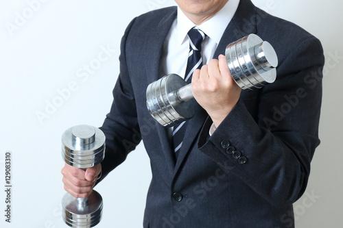 Fotografia  ビジネスマンの体力