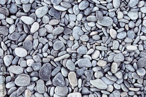 Fotografía  Sea pebbles background