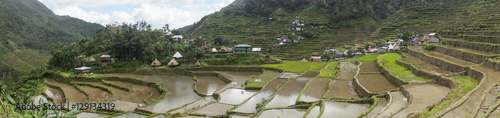 In de dag Rijstvelden Panorama of rice fields in Batad, Banaue, Luzon, Philippines
