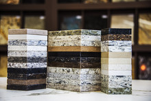 Various Of Stone Color Samples...