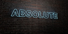 ABSOLUTE -Realistic Neon Sign ...