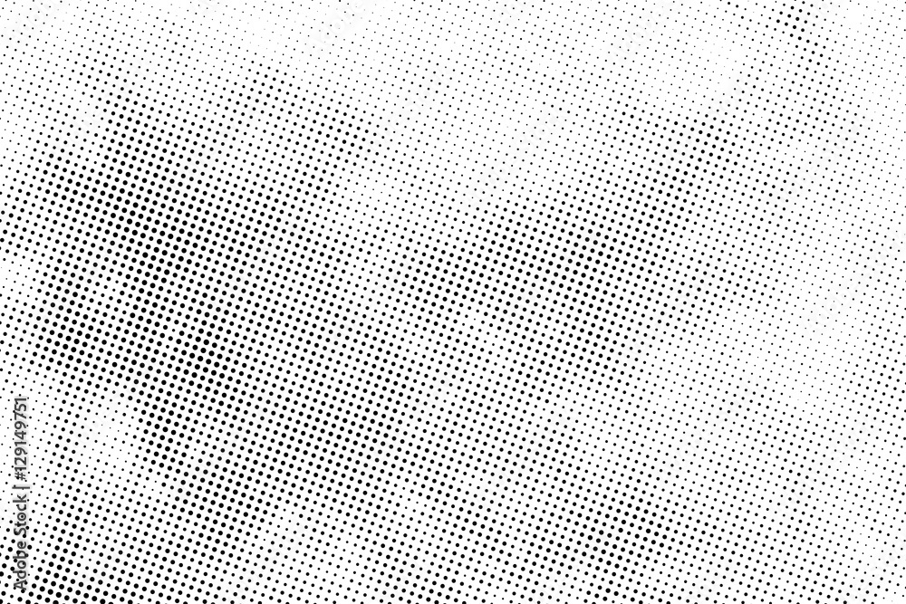 Fototapeta aged newspaper halftone abstract dotted background and texture
