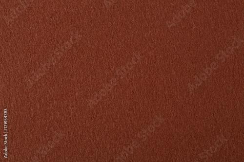 Natural dark brown felt texture. Wallpaper Mural