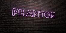 PHANTOM -Realistic Neon Sign O...