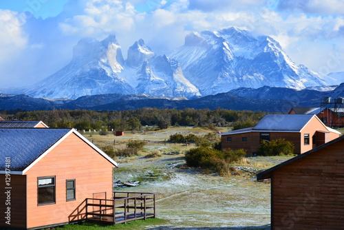 Garden Poster Scandinavia Landscape in Patagonia Chile