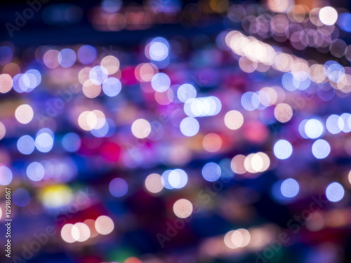 Photo Stands Eggplant Colorful of blur bokeh background 8