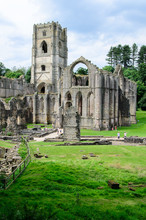 Fountains Abbey, England.