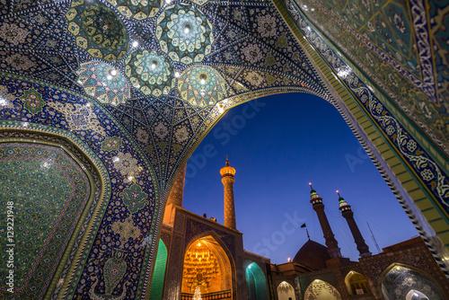 Fotografie, Obraz  Fatima Masumeh Shrine in Qom city in Iran