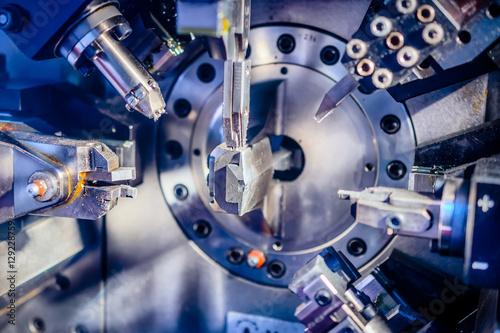 Fotografie, Obraz  Working machine area CNC .