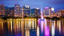 Orlando, Florida City Skyline ...